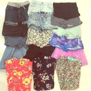 Lot of size 5 clothing